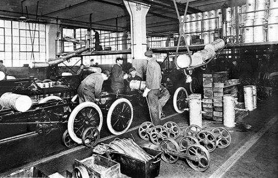 linea de montaje ford
