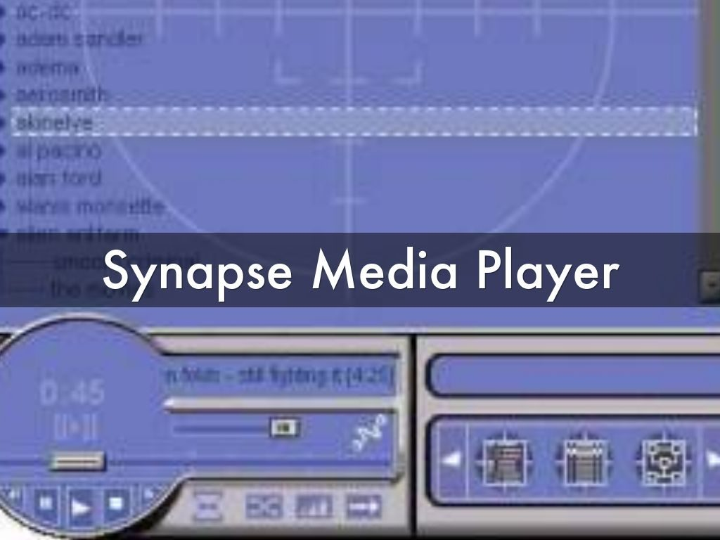 synapse-media-player