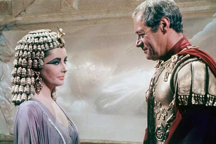 cleopatra y julio cesar 1963